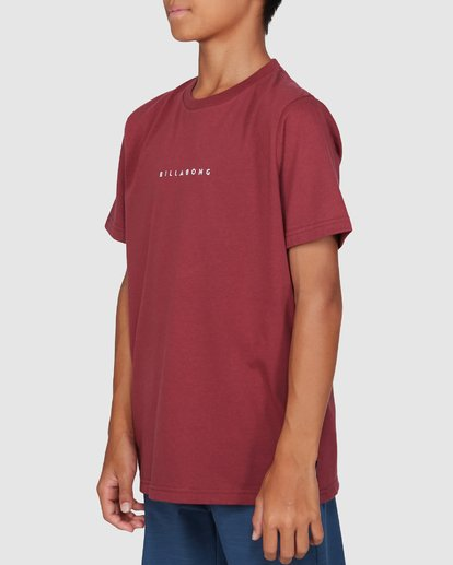 2 Boys Smitdog Short Sleeve Tee Red 8503020 Billabong