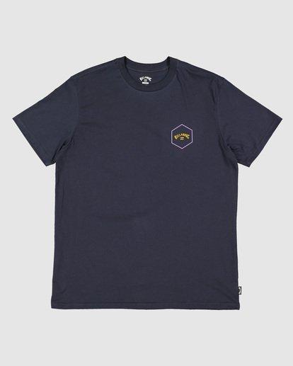 5 Boys Access Short Sleeve Tee Blue 8503027 Billabong