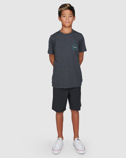 9 Boys Access Short Sleeve Tee Black 8503027 Billabong