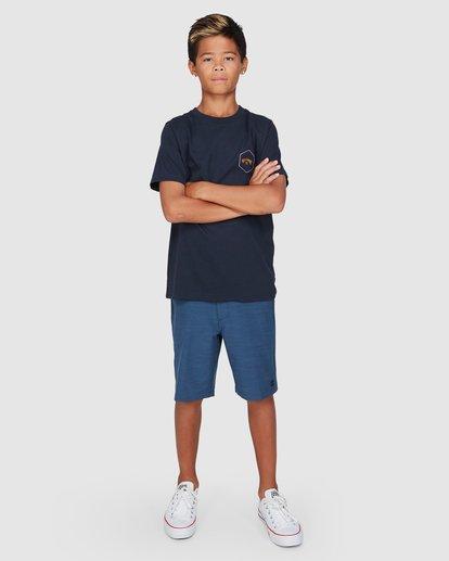 8 Boys Access Short Sleeve Tee Blue 8503027 Billabong