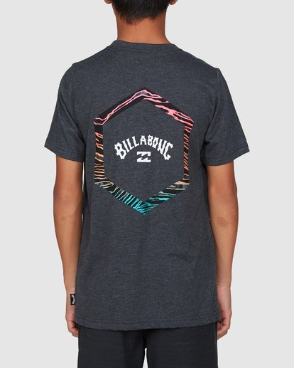 3 Boys Access Short Sleeve Tee Black 8503027 Billabong