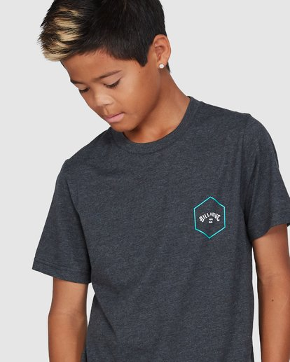 4 Boys Access Short Sleeve Tee Black 8503027 Billabong