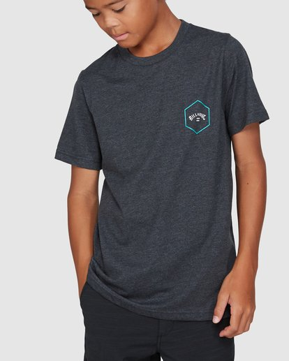 0 Boys Access Short Sleeve Tee Black 8503027 Billabong