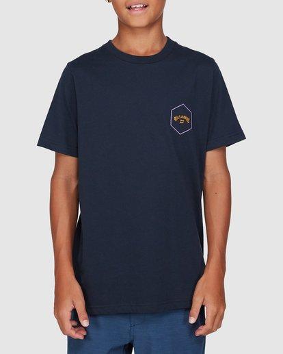 1 Boys Access Short Sleeve Tee Blue 8503027 Billabong