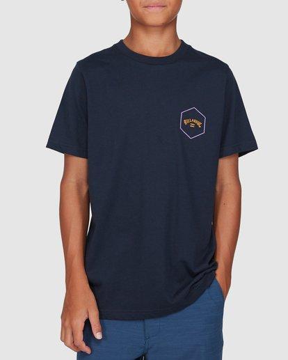 0 Boys Access Short Sleeve Tee Blue 8503027 Billabong