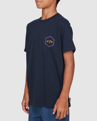 2 Boys Access Short Sleeve Tee Blue 8503027 Billabong