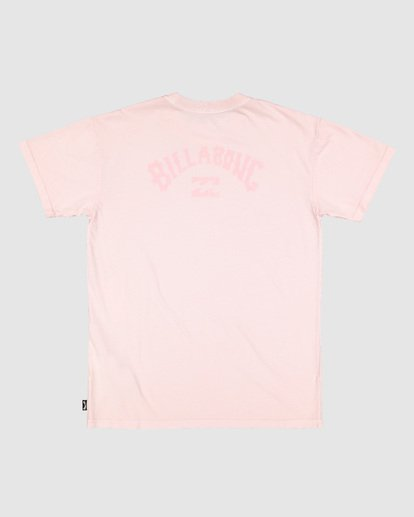 7 Boys Arch Overdye Short Sleeve Tee Pink 8503029 Billabong