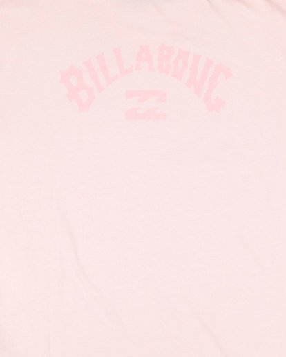 8 Boys Arch Overdye Short Sleeve Tee Pink 8503029 Billabong