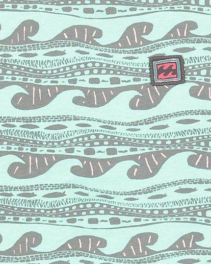 8 Boys Rack Stripe Short Sleeve Tee Green 8503030 Billabong