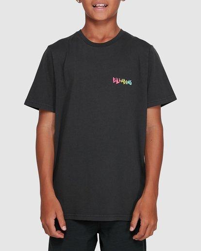 1 Boys Mondo Short Sleeve Tee Black 8503031 Billabong