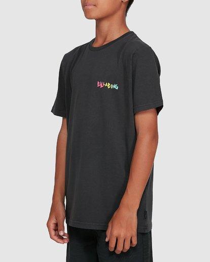 2 Boys Mondo Short Sleeve Tee Black 8503031 Billabong