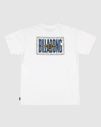 7 Boys Shadows Short Sleeve Tee White 8503034 Billabong