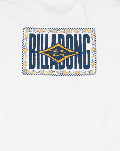 8 Boys Shadows Short Sleeve Tee White 8503034 Billabong