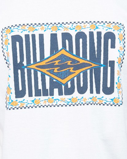 5 Boys Shadows Short Sleeve Tee White 8503034 Billabong