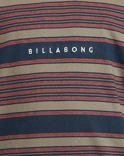 5 Boys Mix Up Stripe Short Sleeve Tee Blue 8503037 Billabong