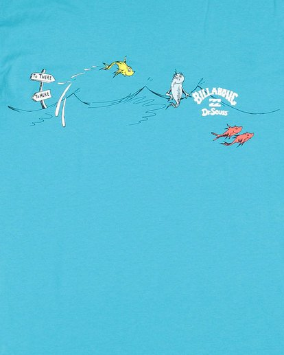 8 Dr. Seuss Boys One Fish Two Fish Blue 8503080 Billabong