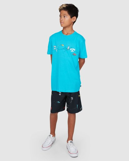 9 Dr. Seuss Boys One Fish Two Fish Blue 8503080 Billabong