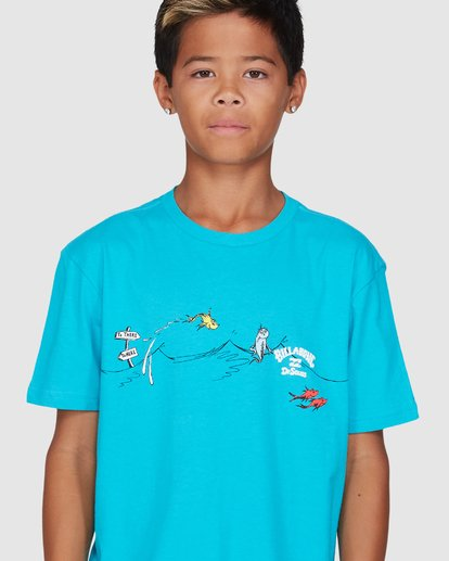 4 Dr. Seuss Boys One Fish Two Fish Blue 8503080 Billabong
