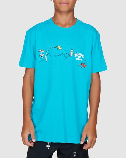 0 Dr. Seuss Boys One Fish Two Fish Blue 8503080 Billabong