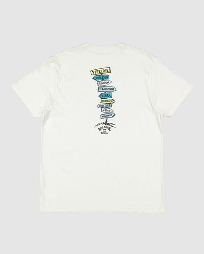 7 Dr. Seuss Boys From Here To There Tee White 8503081 Billabong