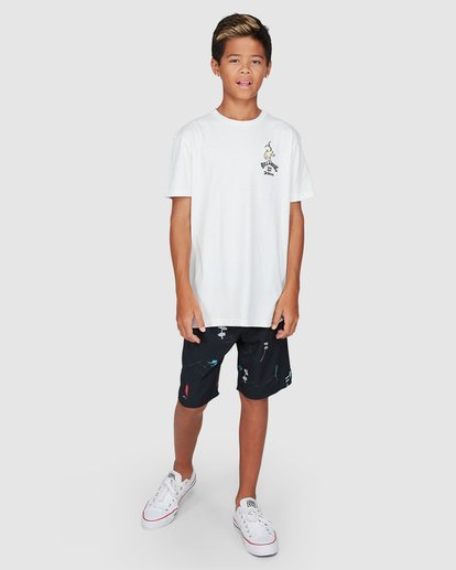 9 Dr. Seuss Boys From Here To There Tee White 8503081 Billabong