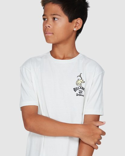4 Dr. Seuss Boys From Here To There Tee White 8503081 Billabong