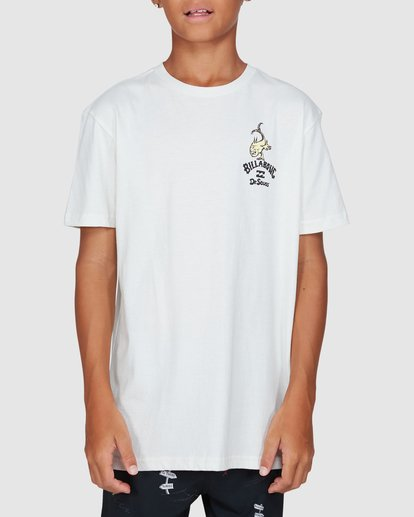 1 Dr. Seuss Boys From Here To There Tee White 8503081 Billabong