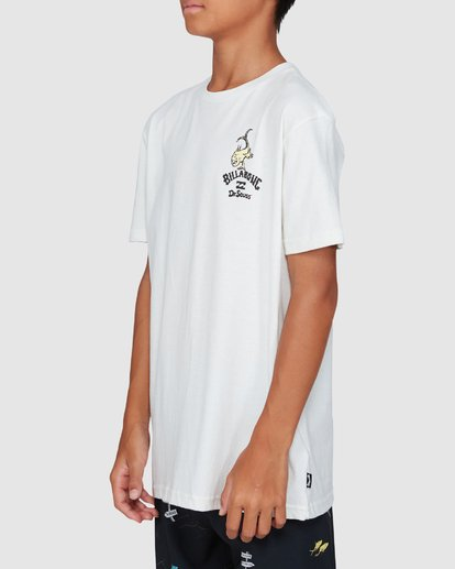 2 Dr. Seuss Boys From Here To There Tee White 8503081 Billabong