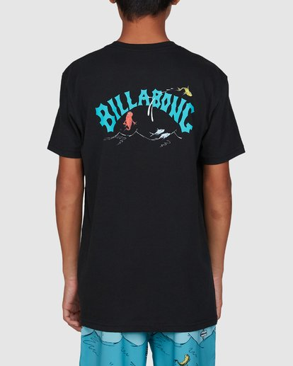 3 Dr. Seuss Boys Red Fish Tee Black 8503082 Billabong