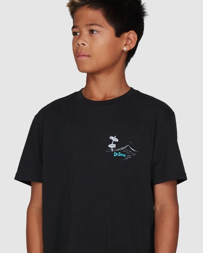 4 Dr. Seuss Boys Red Fish Tee Black 8503082 Billabong