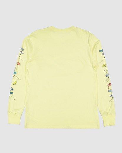 7 Dr. Seuss Boys Little Car Tee Yellow 8503180 Billabong