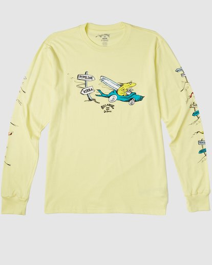 6 Dr. Seuss Boys Little Car Tee Yellow 8503180 Billabong