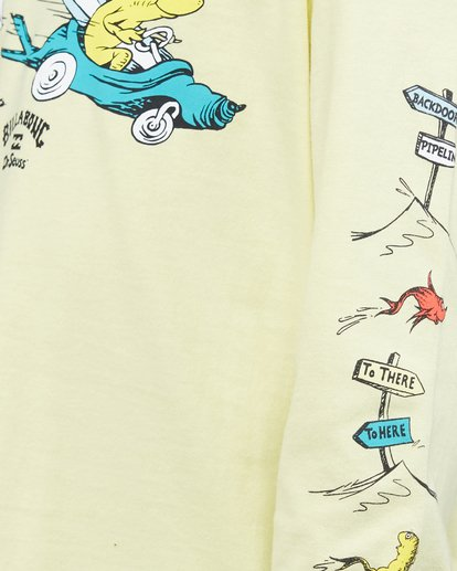 5 Dr. Seuss Boys Little Car Tee Yellow 8503180 Billabong
