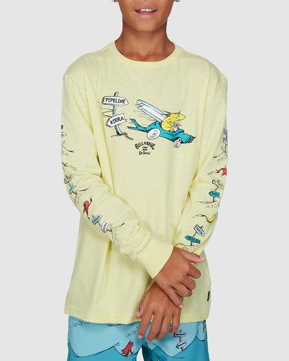 0 Dr. Seuss Boys Little Car Tee Yellow 8503180 Billabong