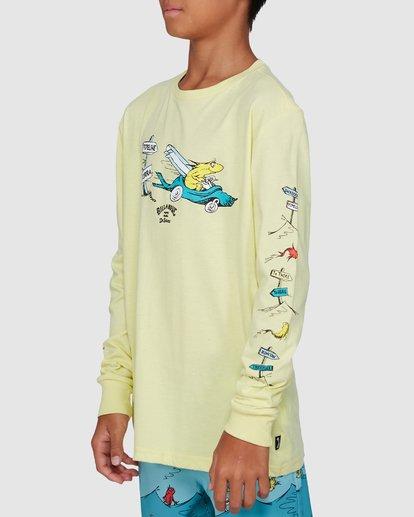 2 Dr. Seuss Boys Little Car Tee Yellow 8503180 Billabong