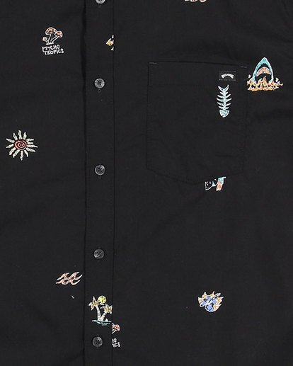 8 Boys Sundays Mini Short Sleeve Shirt Multicolor 8503203 Billabong