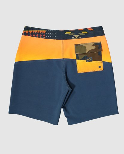12 Boys Fifty50 Pro Boardshorts Orange 8503403 Billabong
