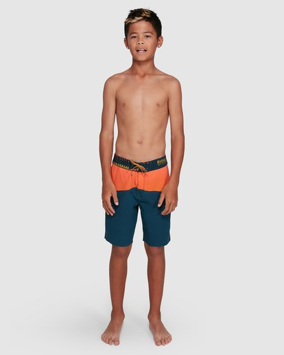 14 Boys Fifty50 Pro Boardshorts Orange 8503403 Billabong