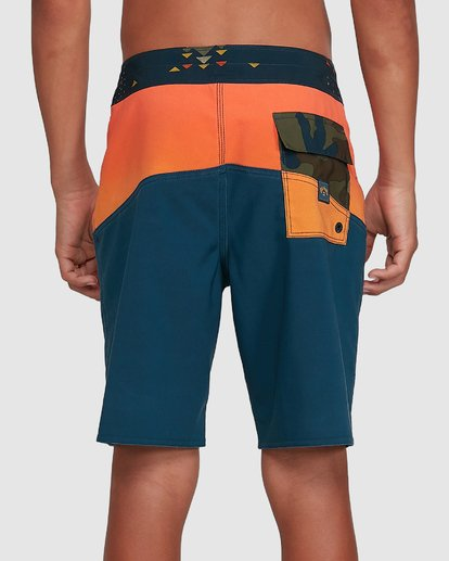 5 Boys Fifty50 Pro Boardshorts Orange 8503403 Billabong