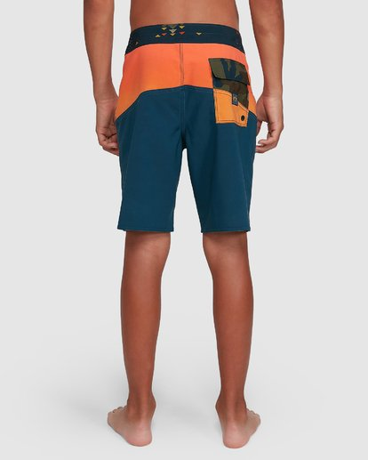 8 Boys Fifty50 Pro Boardshorts Orange 8503403 Billabong