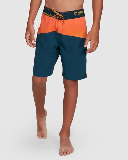 9 Boys Fifty50 Pro Boardshorts Orange 8503403 Billabong