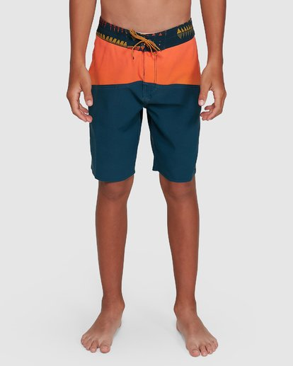 6 Boys Fifty50 Pro Boardshorts Orange 8503403 Billabong