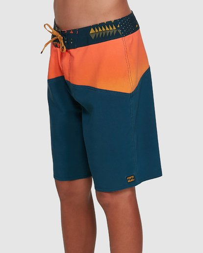 1 Boys Fifty50 Pro Boardshorts Orange 8503403 Billabong