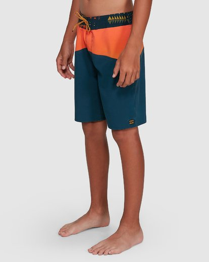 7 Boys Fifty50 Pro Boardshorts Orange 8503403 Billabong