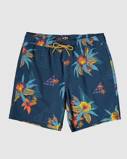 11 Boys Sundays Layback Boardshorts Blue 8503430 Billabong