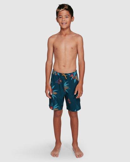 14 Boys Sundays Layback Boardshorts Blue 8503430 Billabong
