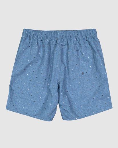 12 Boys All Day Mini Mark Layback Boardshorts Blue 8503433 Billabong