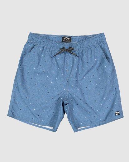 11 Boys All Day Mini Mark Layback Boardshorts Blue 8503433 Billabong