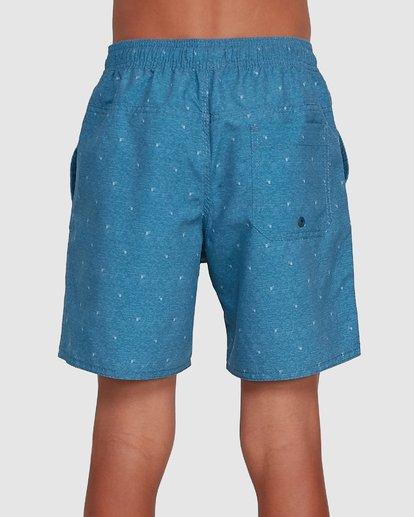 2 Boys All Day Mini Mark Layback Boardshorts Blue 8503433 Billabong