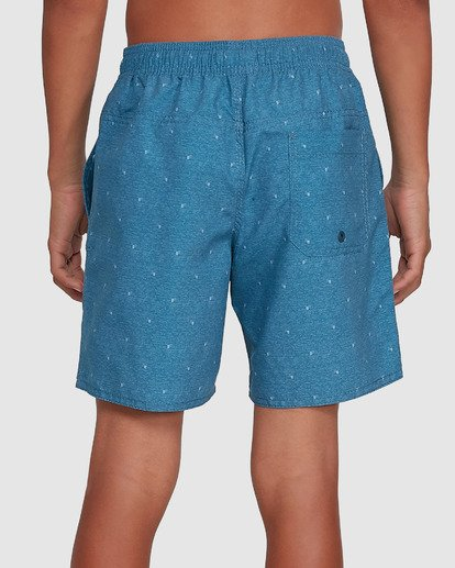 5 Boys All Day Mini Mark Layback Boardshorts Blue 8503433 Billabong